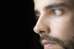 Close-up of a young man Stock Photography