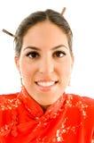 Close up of young woman Stock Photos