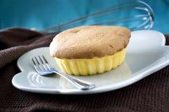 Close up yummy sponge cake Royalty Free Stock Photo