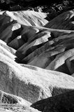 Close up of Zabriske point Royalty Free Stock Photography