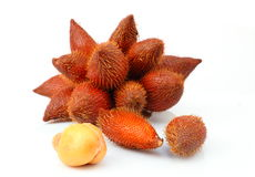 Close up of Zalacca or Salak fruit Royalty Free Stock Photography
