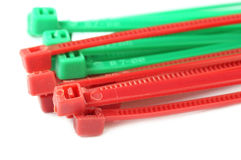 Close up of zip tie Stock Photo