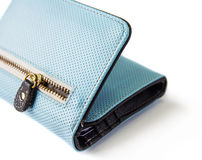 Close up zip wallet Royalty Free Stock Photography