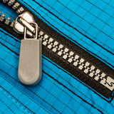 Close up zipper Stock Photography