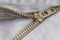 Close up zipper Stock Photos