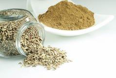Close up of Zira seeds Royalty Free Stock Images