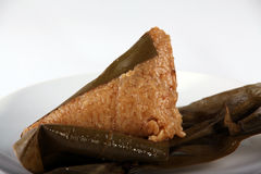 Close-up of Zongzi or Zong Royalty Free Stock Photos