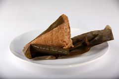 Close-up of  Zongzi or Zong Stock Photos