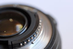 Close Up of a Zoom Lens Stock Photography