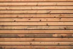 Close-upachtergrond van Gele houten textuur royalty-vrije stock afbeelding