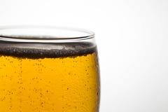 Close-upbel van bier Stock Afbeelding