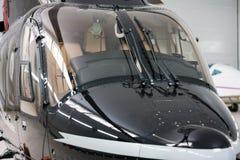 Close-upcockpit van helikopter Royalty-vrije Stock Afbeeldingen