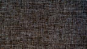 Close-updetail van de donkere textuur van de jutestof Royalty-vrije Stock Afbeelding