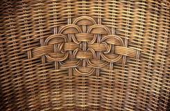 Close-updetail van Rotanstoel royalty-vrije stock afbeelding