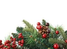 Close-upfragment van Kerstmiskroon Royalty-vrije Stock Afbeelding