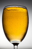 Close-upglas bier Stock Foto's