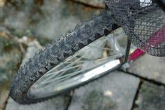 Close-upmening van fiets. Royalty-vrije Stock Fotografie