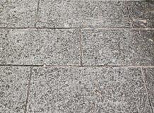 Close-upmening van gebarsten stevig natuursteen Stock Fotografie