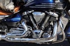 Close-upmotor van de motorfiets Royalty-vrije Stock Foto