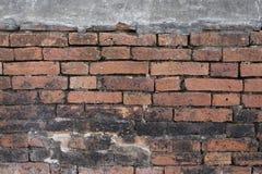 Close-upontwerp van bakstenen muurachtergrond Royalty-vrije Stock Foto's