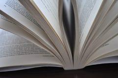 Close-uppagina's van een open boek Royalty-vrije Stock Fotografie