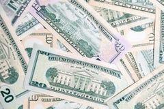 Close-uppartij van de Amerikaanse voorzitter van dollarbankbiljetten Conceptensprong, daling, tarief, muntuitwisseling, schuld, w royalty-vrije stock foto