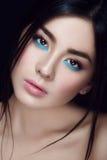 Close-upportret van Aziatisch jong meisje Royalty-vrije Stock Fotografie