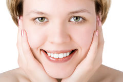 Close-ups girl Stock Photo