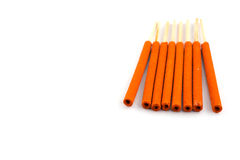 Close-ups of incense sticks Stock Image