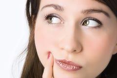 Close-ups portrait Stock Images