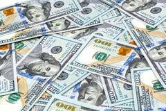Close-upschoten van vijftig dollarsbankbiljet Stock Afbeelding
