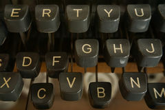 Close-upschrijfmachine Royalty-vrije Stock Afbeelding