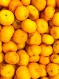 Close-upsinaasappel Stock Foto