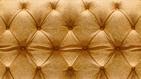 Close-upstoffering Sofa Leather Backdrop Royalty-vrije Stock Afbeeldingen