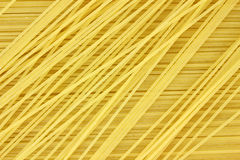 Close view of angel hair pasta Royalty Free Stock Photography