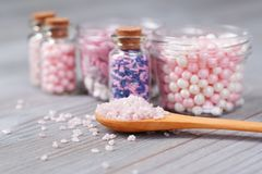 Assorted candy sprinkles Royalty Free Stock Image