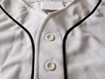 Close View of a Baseball Jersey Stock Photography