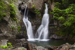 Close View of Bash Bish Falls royalty free stock photo