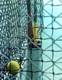 The close view of batting cage Stock Image