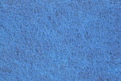 Close view blue scouring pad Stock Photos