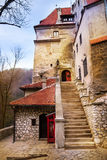 Close view of Bran Castle (Dracula castle) Stock Image