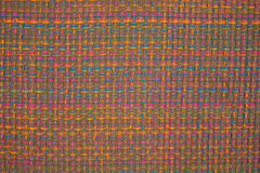 Close view of colorful woven cloth Stock Photos