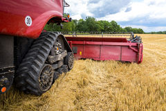Close view on the combine Royalty Free Stock Image