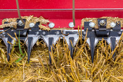 Close view on the combine Stock Photos