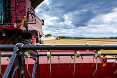 Close view on the combine Royalty Free Stock Images