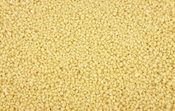 Close view of couscous Royalty Free Stock Photo
