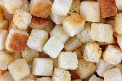 Close View Croutons Royalty Free Stock Photos