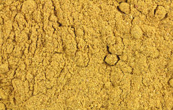 Close view of curry powder Royalty Free Stock Image