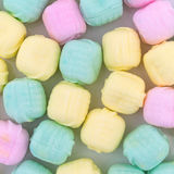 Close view of after dinner mint candies royalty free stock images