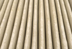 Close view of dirty air filter Royalty Free Stock Image